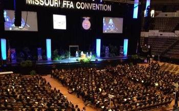 PHOTO: Missouri farms of the future will rely heavily on technology, and young farmers can lead the way. That was one of the messages of this year's Future Farmers of America state convention, where the theme was