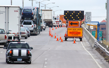 PHOTO: Ceremonies held in Chaska today honor workers who have been injured or killed in Minnesota's highway construction zones. Photo courtesy Minnesota Dept. of Transportation.