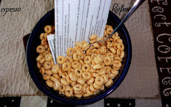 PHOTO: The small print is getting trickier these days, with forced arbitration clauses even popping up in social media via breakfast cereal, according to Devon O'Connell, president of the Wyoming Trial Lawyers Association. Photo credit: Deborah C. Smith