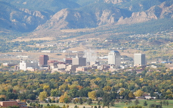PHOTO: Several Colorado cities, including Colorado Springs, have been recognized by the American Lung Association as being some of the cleanest U-S cities. Photo credit: Wikipedia.