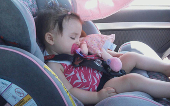 PHOTO: There's a right way and a wrong way to go about buying a safe child car seat, and safety experts say buying a second-hand child car seat is almost always a bad idea. Photo credit: National Highway Traffic Safety Administration.