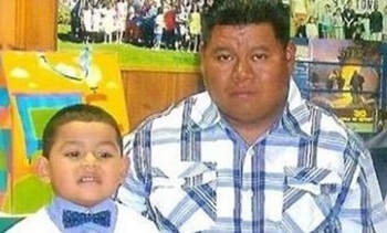PHOTO: Mothers Day for Justin Castillo (left) and his mother, Wendy Urbana, will be observed without the boy's father, Wilfredis Ayala Castillo (right), who has been detained since February. Photo courtesy of the Castillo family.