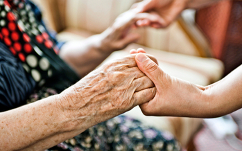 PHOTO: Caregiving is a tough but rewarding job for many of the more than 1.3 people in Indiana who spend their time assisting in the care of a family member, friend or neighbors. Photo courtesy of AARP.