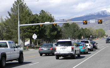 PHOTO: Salt Lake City ranks about midway in a new national ranking of pedestrian deaths and safety in big U.S. cities. Photo courtesy Utah Department of Transportation.