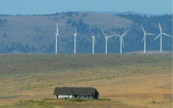 PHOTO: The new EPA rule to reduce carbon pollution from existing coal-fired power plants has been unveiled. Renewable Northwest says the move brings more value to Montana's wind power. Photo courtesy of Deborah C. Smith.